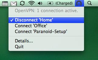 Ace VPN on Mac - Tunnelblick
