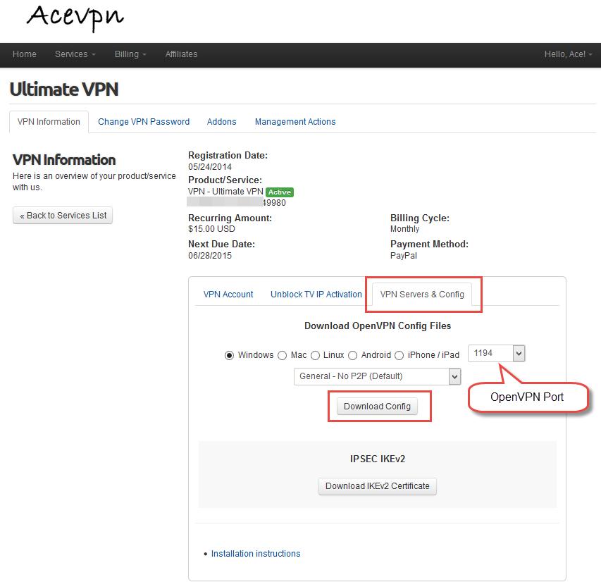 Vpn config generator download