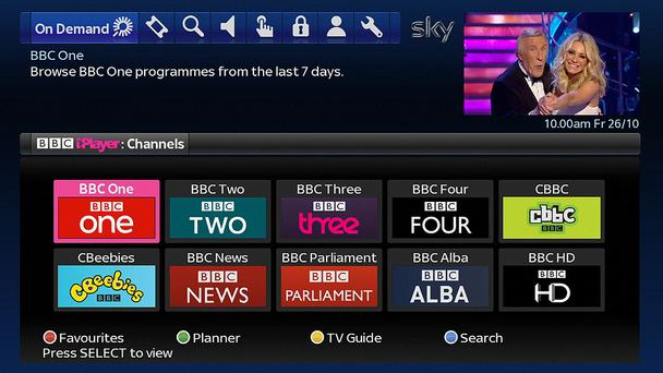 Sky iPlayer