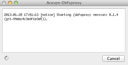 Run Acevpn Obfsproxy
