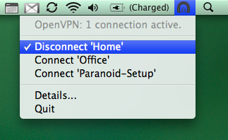 Ace VPN on Mac - Tunnelblick