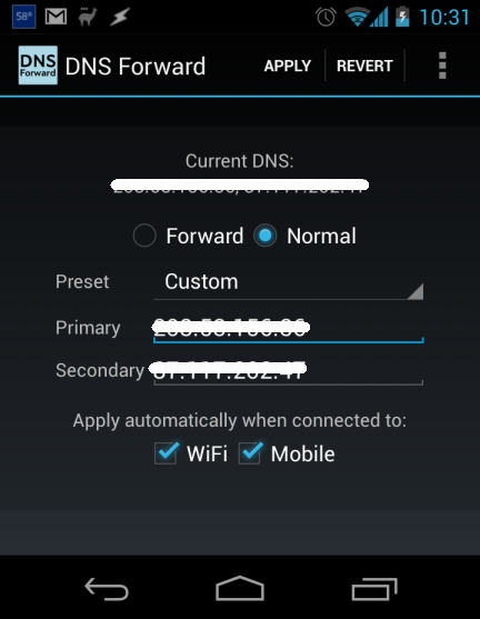 Setup Smart DNS on Android Phone and Tablet to Unblock Videos and Movies